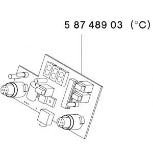 CIRCUIT BOARD CONTROL WDD 161V