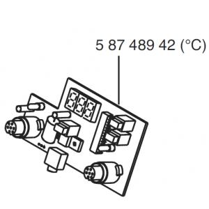 CIRCUIT BOARD CONTROL WSD 161