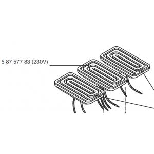 CERAMIC HEATER 120X60 T-HTS/2 230V/200W