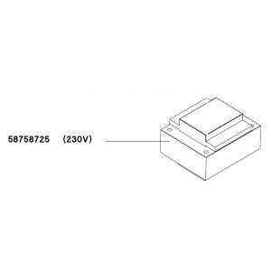 TRANSFORMER 230/24/12 V EI84B 150 VA