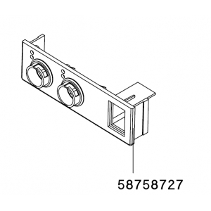 FRONT PLATE CONNECTOR FOR WD 2 / WD 2M