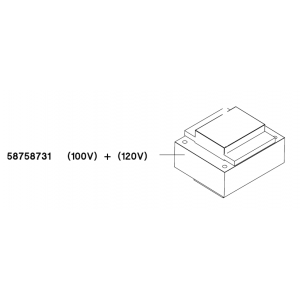 TRANSFORMER 100/120/24/12 V EI84B 150 VA