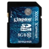 KINGSTON 8GB SDHC Card Class 10 G2