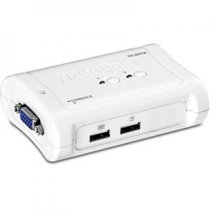 KVM switch: 2 porti, VGA, USB, kaablitega, kuni 2048x1536