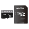 A-DATA  Micro SDHC UHS 8GB CLASS 10+ADAPTER