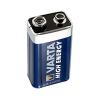 Patarei 9V 6LR61 Alkaline Varta High Energy