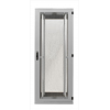 Seadmekapp 45U 2120x800x1000 k,l,s, perforeeritud uksed, kandevõime kuni 1000kg, hall, STANDARD II