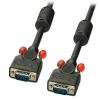 VGA kaabel 50.0m, must ferriitidega, DDC Premium