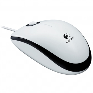Hiir LOGITECH M100 Mouse white USB