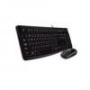 Klaviatuur + hiir LOGITECH DESKTOP MK120 EE juhtmega, USB