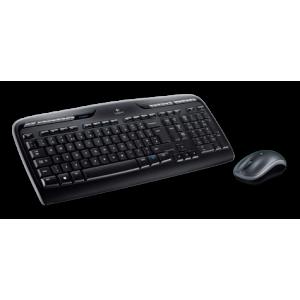 Klaviatuur + hiir LOGITECH WIRELESS COMBO MK330, INT