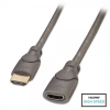 HDMI pikenduskaabel 1.0m, Premium High Speed, 2160p, 3D