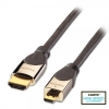 HDMI - Micro HDMI kaabel 1.0m, CROMO High Speed HDMI + Ethernet, hall, 2160p, 3D