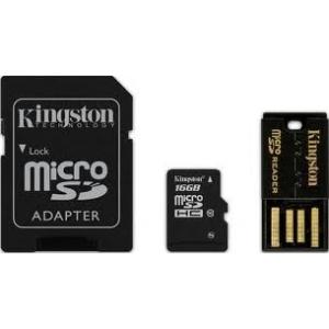 Mälukaardi komplekt KINGSTON 16GB microSDHC Mobility Kit