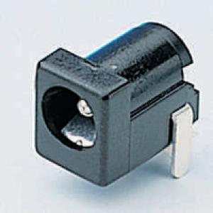 DC pesa 2,1×5,5mm PCB
