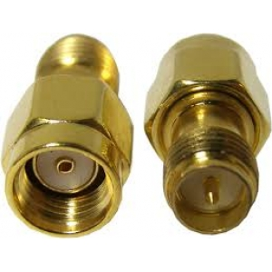 Straight 50Ω RF Adapter SMA Plug to SMA Socket 3GHz