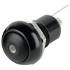 Nupplüliti 2A 125VAC OFF-ON Fikseeruv, Must, Roheline LED IP67