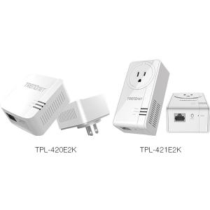 Powerline adapter: 1200Mbps, 1 x 10/100/1000Mbps, ühildub ka teiste kiirustega, energiasäästlik, eraldi võrgupesaga