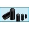 Termokahanevad kaabliotsad ø5,1mm/2mm L=22,9mm, must 25tk/pk