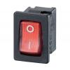 Klahvlüliti 10A 1xON-OFF 13x19mm, punane valgustus