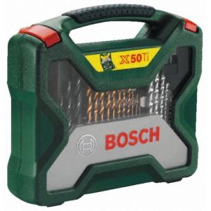 Puuride ja otsikute komplekt Bosch X-Line 50 osa