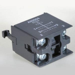 A02-seeria lüliti (A02ES) 2x12A avanevad kontaktid A02504