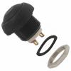 Nupplüliti 1xMOM 0,4A 32VAC Must IP67