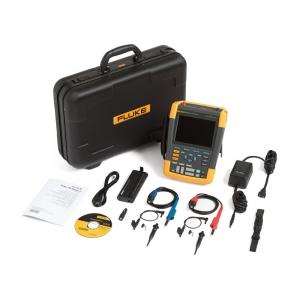 ScopeMeter 2-kanaliga, 100MHz + SCC290 Kit