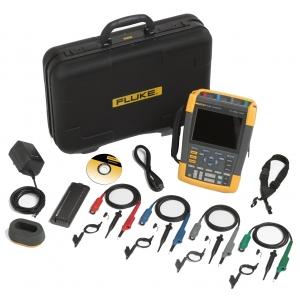 ScopeMeter 4-kanaliga, 100MHz + SCC290 Kit