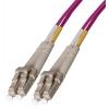 FO jätkukaabel multimode LC-LC duplex OM4 (50/125) 5.0m