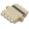 FO adapter multimode LC quad beez