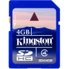 KINGSTON SDHCCard 4GB SDcard 2.0, Class 4