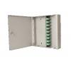FO seinakarp metallist SC/ST/LC/E2000 lukustatav tühi hall