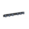 1U Cable Management Bar Grey (RAL7035) w...