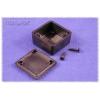 ABS-PLASTIC.35x35x20mm BLACK IP54
