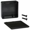 ABS-PLASTIC.50x50x20mm BLACK IP54