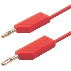 Testrijuhe, 1m, 60V DC, 16A, silikoon, punane