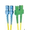 FO patch kaabel singlemode SC-SC/APC duplex 15.0m
