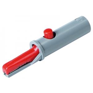 Krokodill,60V DC, 6A, isoleeritud, punane, avaneb 6mm