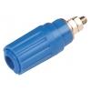 Banaanpesa sinine 4mm 600V 16A