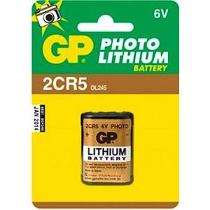 Patarei 2CR5 Liitium 6V GP