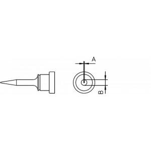 LT-1SA kolviots ümar peenike 0,5mm WP80,WSP80,FE75