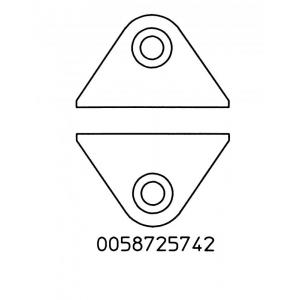 Juhtmete lõikamiskomplekt laius 23mm, WST kolvile