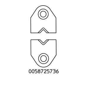 Koorimisotsikute komplekt 4,25mmx2mm, WST kolvile