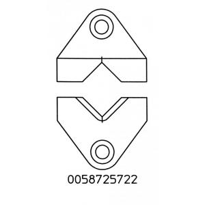 Koorimisotsikute komplekt 9x2mm, WST kolvile