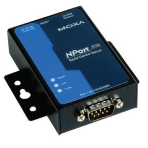 RS-232/422/485 server, 1 port, 0 kuni 60°C, serial/LAN/toite ülepingekaitse, madal voolutarve - 1 W