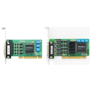 RS-232/422/485 PCI kaart, Low Profile, 4 porti + DB25M kaabel