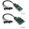 RS-422/485 PCI kaart, 4 porti + DB9M kaabel