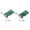 RS-232/422/485 PCI kaart, Low Profile, 2 porti + DB9M kaabel