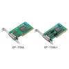 RS-232/422/485 PCI kaart, Low Profile, 2 porti, opt. isol. 2KV  + DB9M kaabel